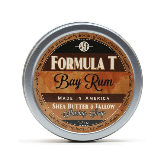 Mydło do golenia Wsp Formula T Shaving Soap Bay Rum 125 g
