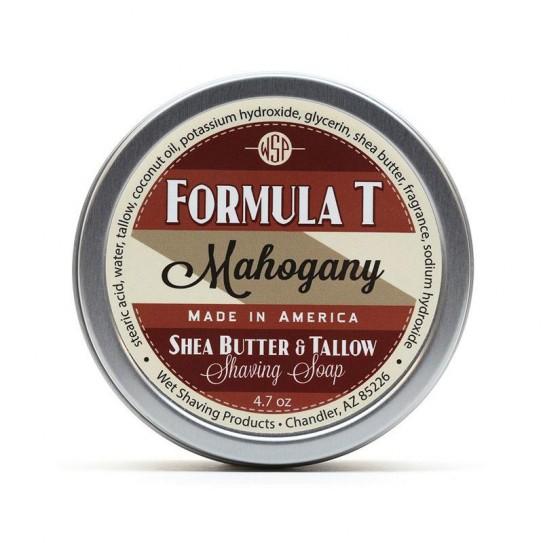 Mydło do golenia Wsp Formula T Shaving Soap Mahogany 125 g
