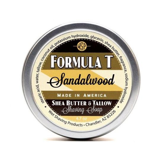Mydło do golenia Wsp Formula T Shaving Soap Sandalwood 125 g