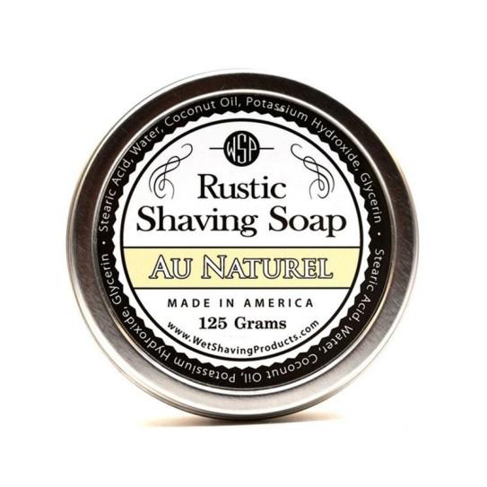 Mydło do golenia Wsp Rustic Shaving Soap Au Naturel 125 g