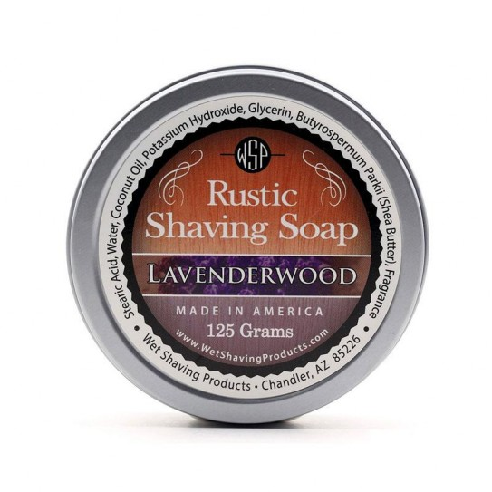 Mydło do golenia Wsp Rustic Shaving Soap Lavender Wood 125 g