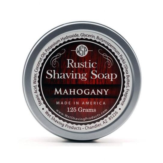 Mydło do golenia Wsp Rustic Shaving Soap Mahogany 125 g