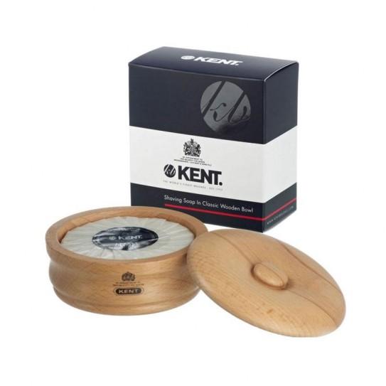 Mydło do goleniaw drewnianym tyglu Kent Sb1 120 g