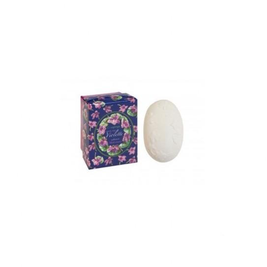 Mydło nawilżające kwiatowe Confianca Violet Collection Moisturizing Soap (Dark Blue Box) 150 g