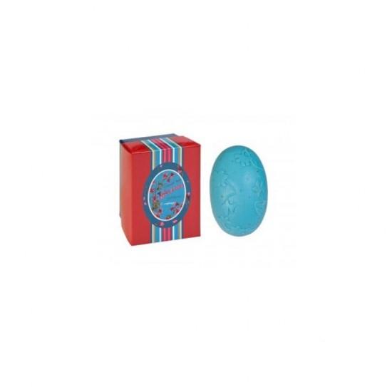 Mydło peelingujące kwiatowe Confianca Violet Collection Exfoliating Soap (Blue Box) 150 g