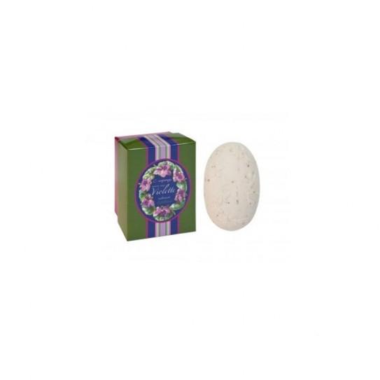 Mydło peelingujące kwiatowe Confianca Violet Collection Exfoliating Soap (Green Box) 150 g