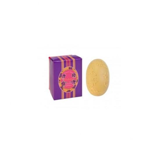 Mydło peelingujące kwiatowe Confianca Violet Collection Exfoliating Soap (Yellow Box) 150 g