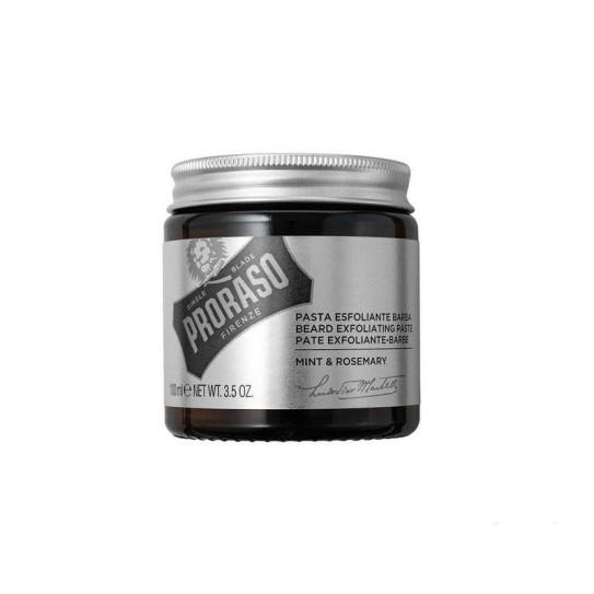 Oczyszczający peeling do skóry z zarostem Proraso Beard Exfoliante Paste Mint & Rosemary 100 ml