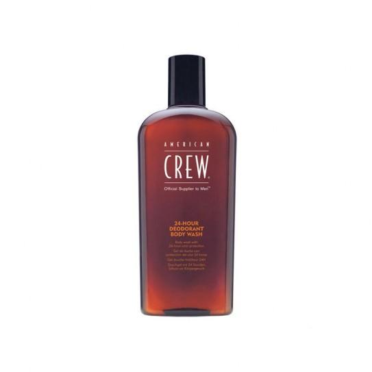 Odświeżający Żel pod prysznic American Crew 24 Hour Deodorant Body Wash 450Ml
