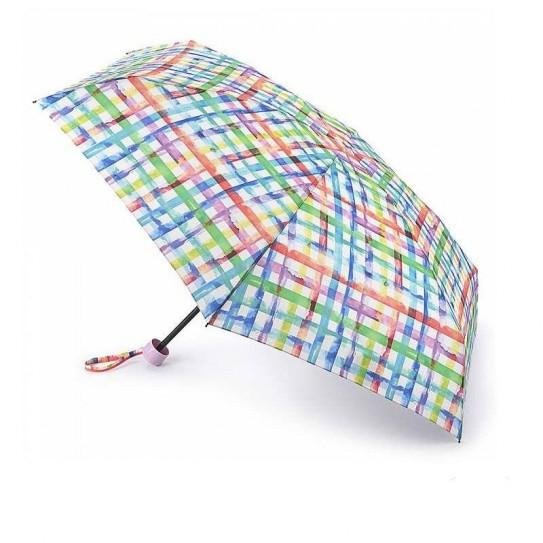 Parasol damski Fulton Soho 2 Rainbow Check L859