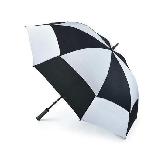 Parasol Fulton Stormshield Black/White S669 (6F2986)