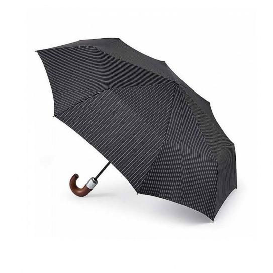 Parasol męski Fulton Chelseastripe Black G818 (6F2162)