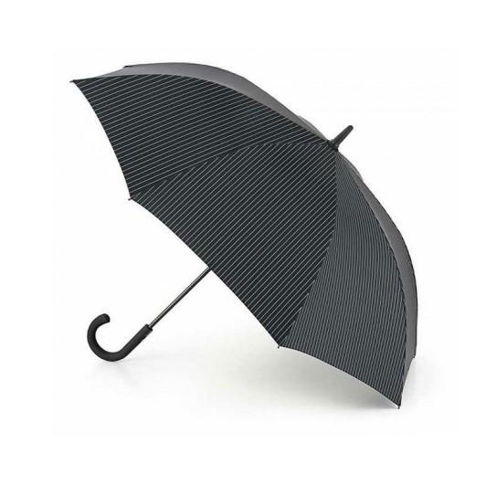 Parasol męski Fulton Knightsbridge-2 City Stripe Black/Steel G451 (6F2162)
