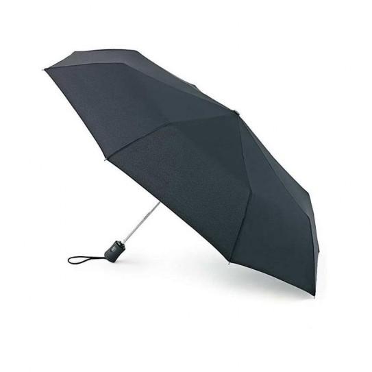 Parasol męski Fulton Open & Close 3 Black L345 (6F001)