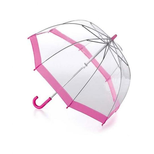 Parasol przeźroczysty dla Dzieci Fulton Funbrella-2 Pink C603 (7S002)