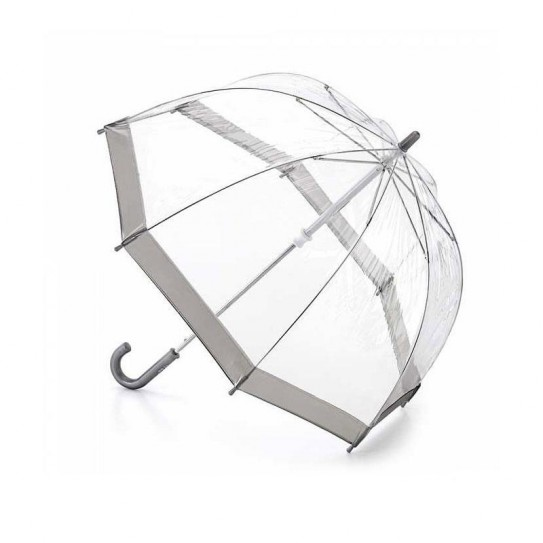 Parasol przeźroczysty dla Dzieci Fulton Funbrella-2 Silver C603 (6F003)