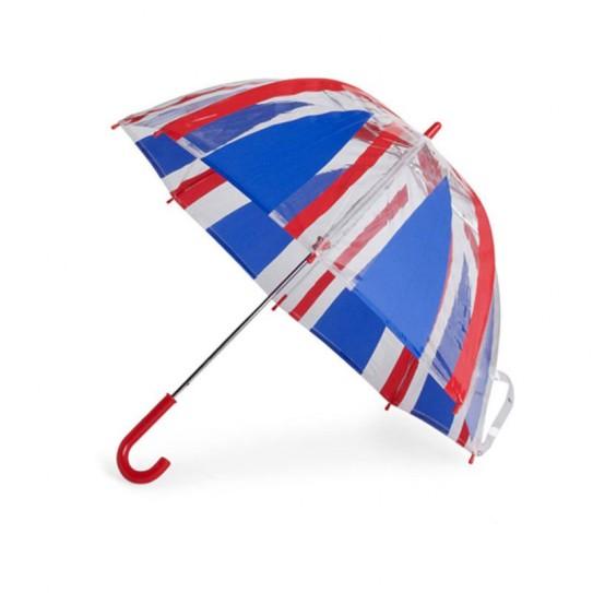 Parasol przeźroczysty dla Dzieci Fulton Funbrella-4 Union Jack C605