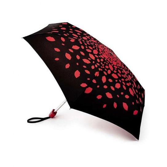 Parasolka damska Fulton Lulu Guinness Tiny-2 Raining Lips L717 (6F3178)