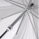Parasolka damska przeźroczysta Fulton Birdcage-1 Pink L041 (6F022)  1