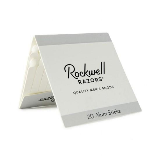Patyczki ałunowe na zacięcia Rockwell Alum Matches 20 szt.