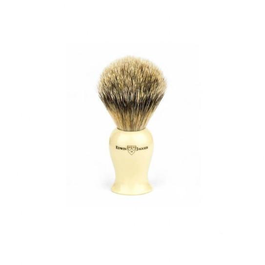 Pędzel do golenia Edwin Jagger Ivpsbbb The Plaza Collection włosie borsuka
