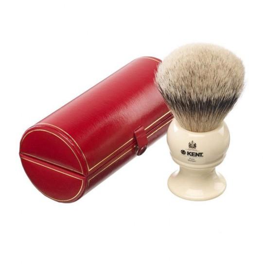 Pędzel do golenia Kent Bk12 Silver-Tip Badger