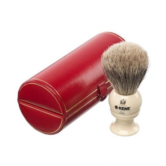 Pędzel do golenia Kent Bk4 Silver-Tip Badger
