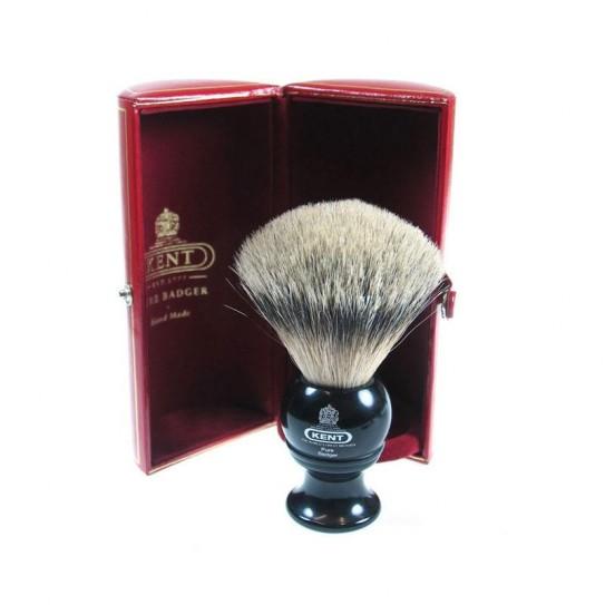 Pędzel do golenia Kent Blk4 Silver-Tip Badger