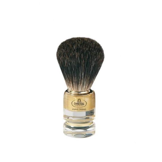Pędzel do golenia Omega 6186 włosie borsuka