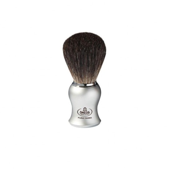 Pędzel do golenia Omega 6229 Black Badger