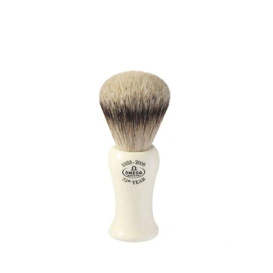 Pędzel do golenia Omega 6619 włosie borsuka