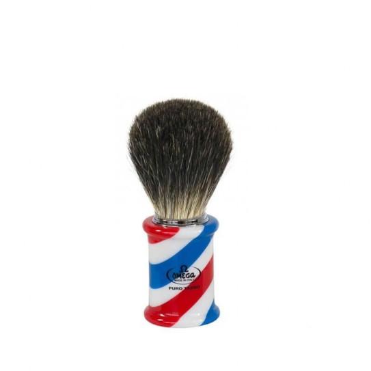 Pędzel do golenia Omega 6736 włosie borsuka