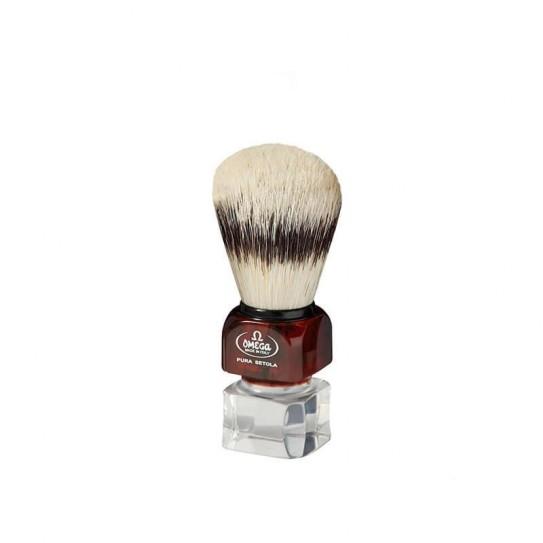 Pędzel do golenia Omega 81025 ze stojakiem