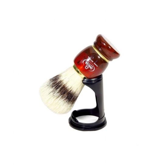 Pędzel do golenia Omega 81151 ze stojakiem