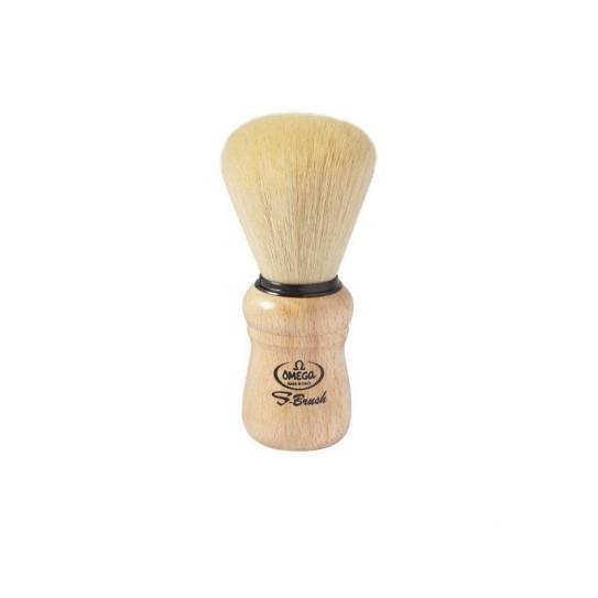 Pędzel do golenia Omega S-Brush S10005 syntetyczny