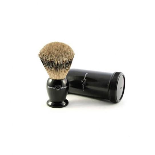 Pędzel do golenia podróżny Edwin Jagger Ietsbbb włosie borsuka