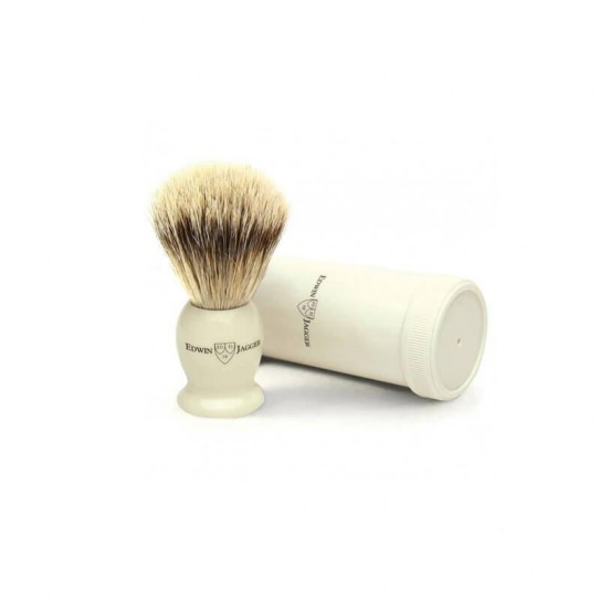 Pędzel do golenia Podróżny Edwin Jagger Ivtsbb włosie borsuka