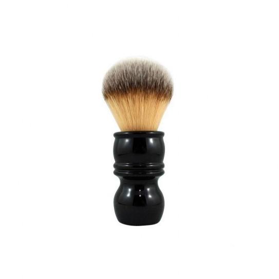Pędzel do golenia RazoRock Plissoft Barber Handle Synthetic Shaving Brush