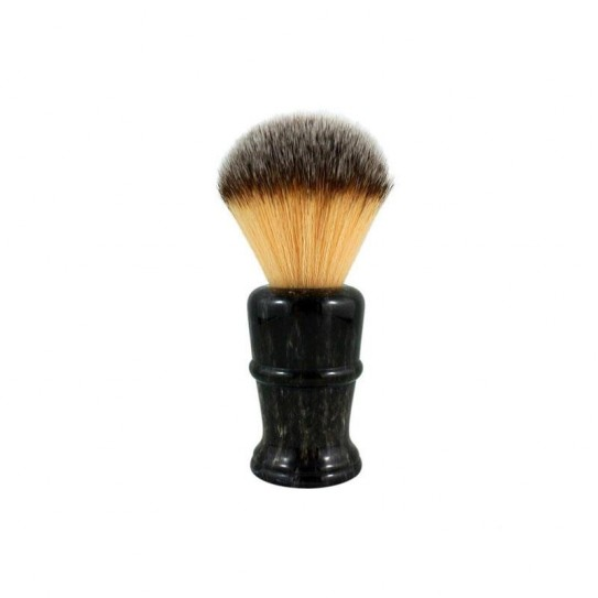 Pędzel do golenia RazoRock Plissoft Disruptor Faux Horn Synthetic Shaving Brush