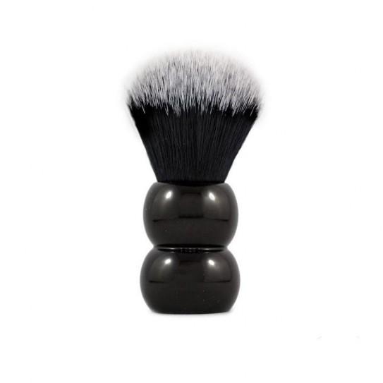 Pędzel do golenia RazoRock Tuxedo Plissoft Snowman Synthetic Brush 24 mm knot