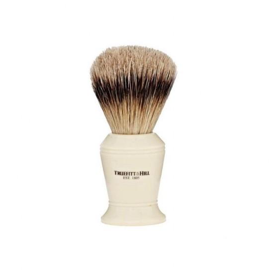 Pędzel do golenia Truefitt & Hill Carlton Faux Ivory Super Badger Brush