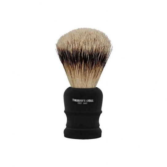 Pędzel do golenia Truefitt & Hill Wellington Faux Ebony Super Badger Brush