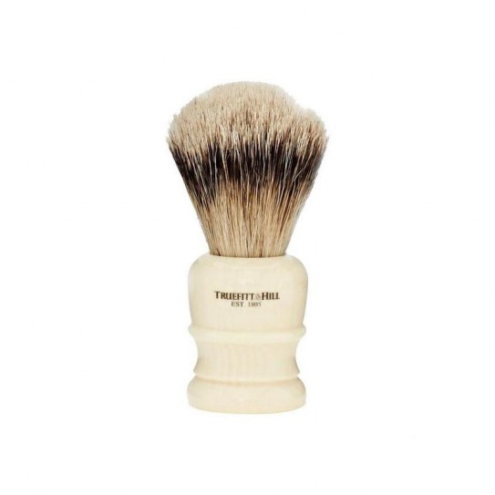 Pędzel do golenia Truefitt & Hill Wellington Faux Ivory Super Badger Brush