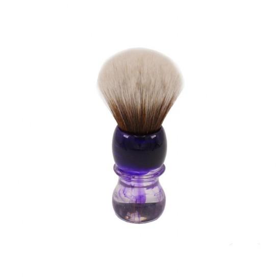 Pędzel do golenia Yaqi Brush Purple Haze Handle R1738-S