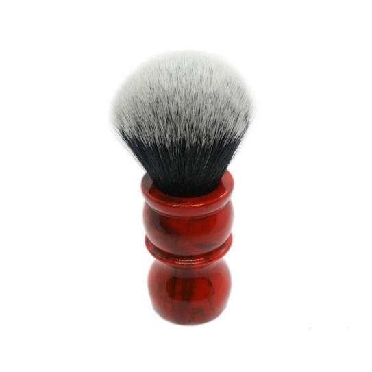 Pędzel do golenia Yaqi Brush Red Marble Handle R1735-24