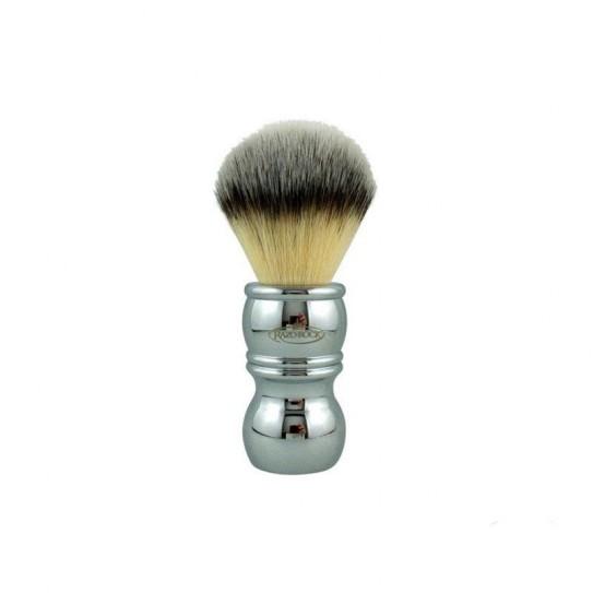 Pędzel do golenia RazoRock Chrome Silvertip Plissoft Synthetic Shaving Brush