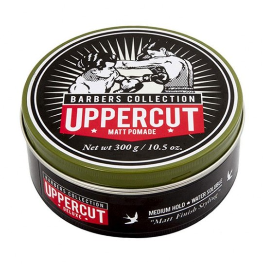 Pomada do włosów Uppercut Deluxe Matt Pomade Barbers Collection 300 g