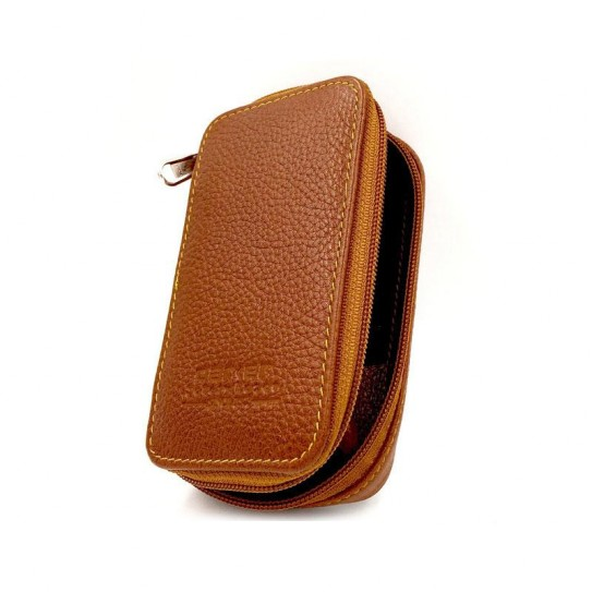 Skórzane Etui podróżne Parker Leather Zip Pouch LP4
