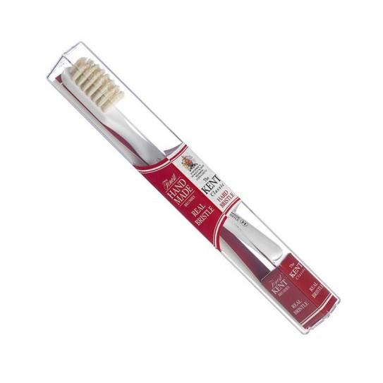 Szczoteczka do zębów wykańczana ręcznie Kent Tb Classic H Hard (Twarda)