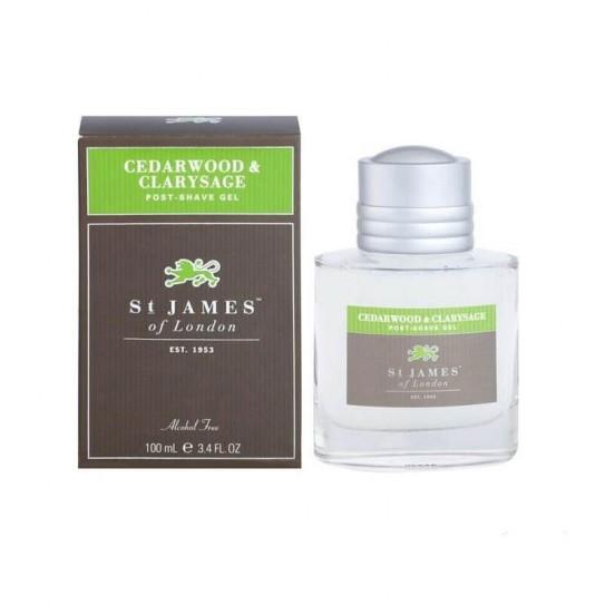 Żel po goleniu St. James of London Cedarwood & Clarysage 100 ml